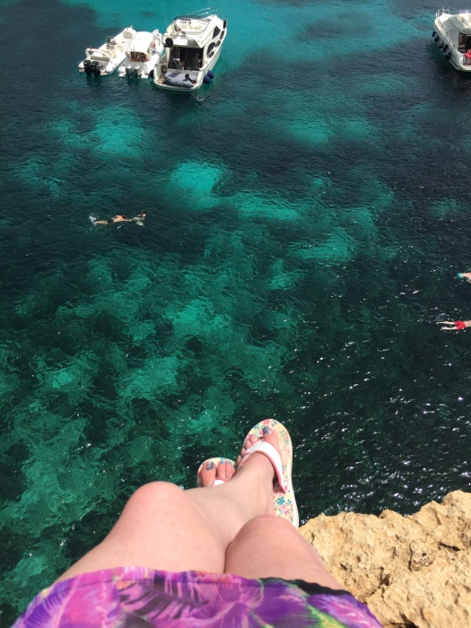 Just hanging around above the Crystal Lagoon!
