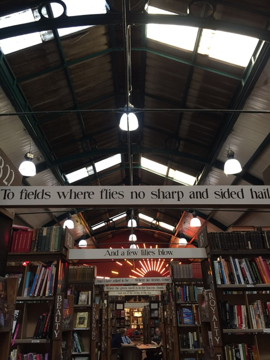 Barter Books, second hand bookshop in Alnwick, Northumberland