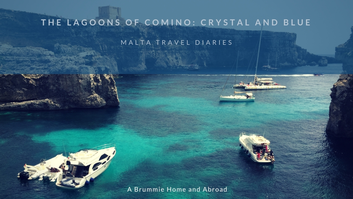 Malta Travel Diaries: Comino Lagoons - Blue and Crystal