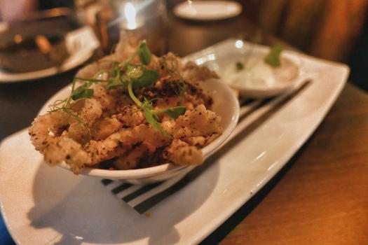 The Green House, Sutton Coldfield: Salt & Szechuan Pepper Squid with aioli